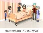 3d illustration of family to... | Shutterstock . vector #401507998