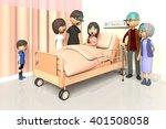 3d illustration of family to... | Shutterstock . vector #401508058