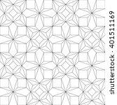 monochrome geometric seamless... | Shutterstock .eps vector #401511169