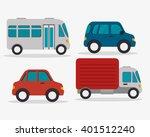 mass transport design  | Shutterstock .eps vector #401512240
