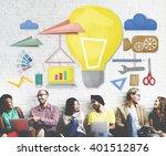 tools craftsmen hobby idea... | Shutterstock . vector #401512876