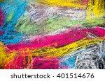 Child Chalk Ground