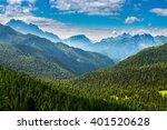 famous italian  dolomites alps | Shutterstock . vector #401520628