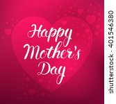 mother's day. vector... | Shutterstock .eps vector #401546380