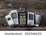 Old And Obsolete Mobile Phone...
