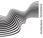 optical art background wave...   Shutterstock . vector #401600623