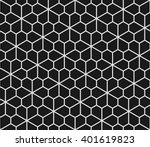 geometric seamless pattern with ... | Shutterstock .eps vector #401619823