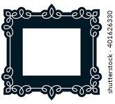 border frame molding line deco... | Shutterstock .eps vector #401626330