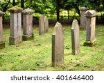 Jewish Cemetery  Old Graveyard. ...