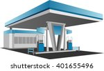 gas stations | Shutterstock .eps vector #401655496