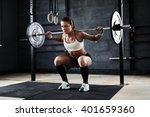 weightlifting | Shutterstock . vector #401659360