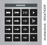 vector arrows. easy editable.