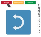 arrow icon jpg | Shutterstock .eps vector #401674720