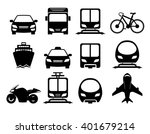 vehicle and transportation icon ... | Shutterstock . vector #401679214