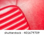 luxurious red leather classic... | Shutterstock . vector #401679709