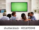 multi generation family... | Shutterstock . vector #401695048