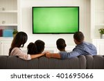 parents and their two children... | Shutterstock . vector #401695066