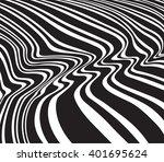 optical art opart striped wavy...