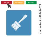 paint brush icon jpg | Shutterstock .eps vector #401696674