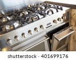 kitchen store oven | Shutterstock . vector #401699176