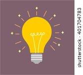 abstract vector flat design... | Shutterstock .eps vector #401704783