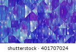 abstract background. blue mosaic | Shutterstock . vector #401707024