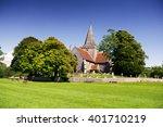Country Church  English Villag...