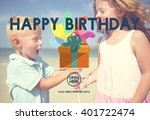 happy birthday event occasion... | Shutterstock . vector #401722474