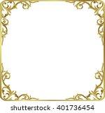 Corner Gold Vintage Baroque...