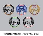 eagle logotype | Shutterstock .eps vector #401753143