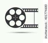 vector of filmstrip symbol or... | Shutterstock .eps vector #401774680