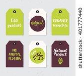 modern brush lettering.... | Shutterstock .eps vector #401777440