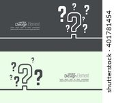 question mark icon. help symbol.... | Shutterstock .eps vector #401781454