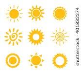 sun vector | Shutterstock .eps vector #401832274