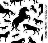 vector seamless pattern with... | Shutterstock .eps vector #401837059