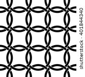 interlocking circles pattern ... | Shutterstock .eps vector #401844340
