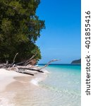 beautiful beach at koh rawi... | Shutterstock . vector #401855416