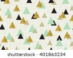 vector seamless pattern with... | Shutterstock .eps vector #401863234