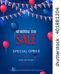 design of the flyer of memorial ...   Shutterstock .eps vector #401881204