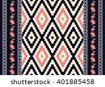 geometric ethnic oriental... | Shutterstock .eps vector #401885458