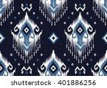 geometric ethnic oriental ikat... | Shutterstock .eps vector #401886256
