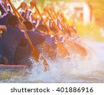 rowing team race and color tone ...