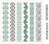 decorative seamless ornamental... | Shutterstock .eps vector #401894803