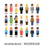 abstract vector people... | Shutterstock .eps vector #401903128
