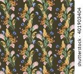 grass  flower of meadow ... | Shutterstock . vector #401903404