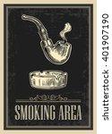 Retro Poster   The Sign Smoking ...