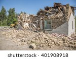 an old building made of mud...   Shutterstock . vector #401908918