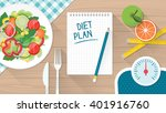 food  diet  healthy lifestyle... | Shutterstock .eps vector #401916760