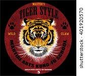 Tiger Illustration Fashion...