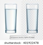 Transparent Vector Glass Of...